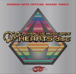 "OPEN THE MUSIC GATE ""Dia.HEARTS disc"""