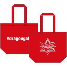 #dragongateハッシュタグ/2017オフィシャルロゴ トートバッグ (Lサイズ)