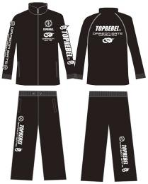 DRAGON GATE×TOPREBEL LIMITED Wネームジャージセットアップ