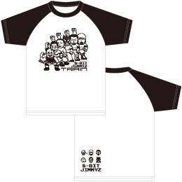ジミーズ ラグランTシャツ黒 (2017年秋モデル)