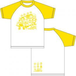 ジミーズ ラグランTシャツ黄色 (2017年秋モデル)