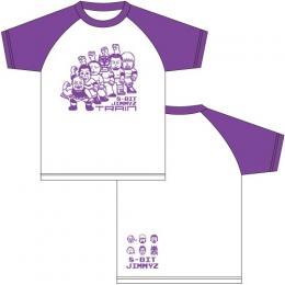 ジミーズ ラグランTシャツ紫 (2017年秋モデル)