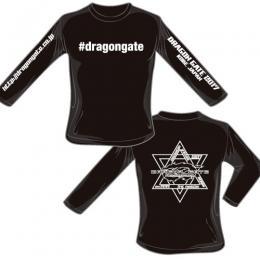 #dragongate ハッシュタグ 長袖ロングTシャツ 2017モデル