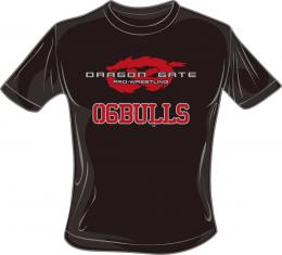 【DG野球部サイン入り】DRAGON GATE×06BULLS コラボレーションTシャツ
